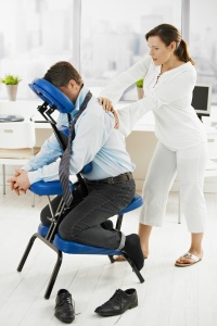 Massage in office