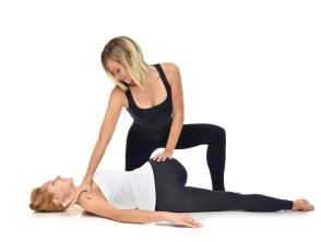 Assisted Stretching Torso Twist